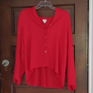 Tops - Red button downs size small
